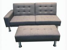 [9成新] LA1101CE*全新灰色沙發床其它沙發無破損有使用痕跡