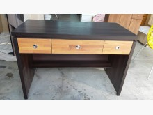 [全新] 工廠庫存出清木心板柚木色辦公桌書桌/椅全新