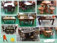 [9成新] 【台北二手家具店】9成新餐桌無破損有使用痕跡
