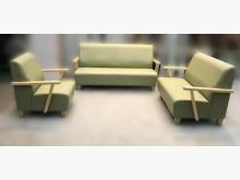 [全新] 全新綠色123皮沙發多件沙發組全新