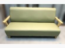 [全新] 全新綠色三人坐皮沙發雙人沙發全新