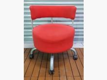 [8成新] F1119EJJ 紅色旋轉椅電腦桌/椅有輕微破損