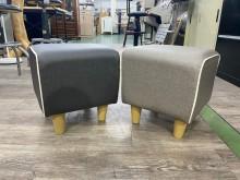 [全新] 吉田二手傢俱❤全新方塊小椅腳椅凳沙發矮凳全新