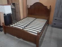 [全新] 毅昌二手家具~全新美式鄉村風床架雙人床架全新
