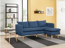 [全新] 泰雷莎L型布沙發L型沙發全新