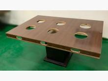 [7成新及以下] E120204*6孔火鍋桌*其它桌椅有明顯破損