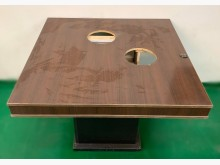 [7成新及以下] E120206*2孔火鍋桌其它桌椅有明顯破損