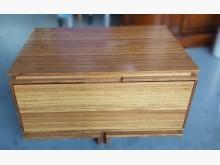 [9成新] B113003*原木床邊櫃床頭櫃無破損有使用痕跡