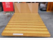 B112903 * 原木色掀床+雙人床架無破損有使用痕跡