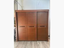 吉田二手傢俱❤7尺實木衣櫃衣櫥衣櫃/衣櫥無破損有使用痕跡