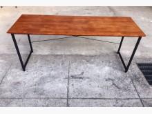[全新] 全新6尺工業風書桌/全實木面書桌書桌/椅全新