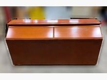[9成新] B12416*柚木色雙人床頭櫃床頭櫃無破損有使用痕跡