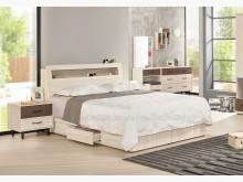 [全新] 2104559-2戴維斯5尺床雙人床架全新