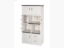 白橡3尺塑鋼電器櫃 桃園區免運費碗盤櫥櫃全新