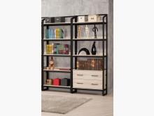 [全新] 達爾維5.3尺雙抽開放書櫃書櫃/書架全新