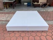 [全新] 全新品 純白色標準雙人5尺床箱雙人床架全新