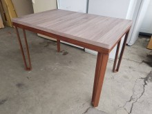 [全新] 毅昌二手家具~全新木心板餐桌餐桌全新