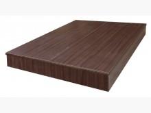 九成新胡桃5尺六分床底 桃區免運雙人床架無破損有使用痕跡