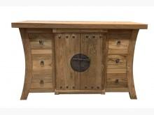 [全新] 老柚木玄關櫃 實木餐櫃 宏品其它櫥櫃全新