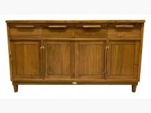 [全新] 稻香五尺柚木餐櫃 原木碗盤櫥櫃碗盤櫥櫃全新
