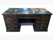 [8成新] ZM122302*雞翅木主管桌*辦公桌有輕微破損