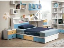 [全新] 2004135-1艾文斯書架單床單人床架全新