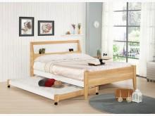 [全新] 2004137-1卡爾雙人子母床雙人床墊全新