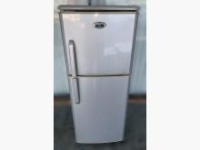 [8成新] 聲寶120L小雙門冰箱冰箱有輕微破損