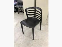 黑色餐椅/戶外椅/咖啡椅/接待椅餐椅無破損有使用痕跡