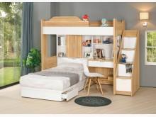[全新] 2004171-1卡爾六件式床組雙人床架全新