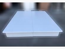 [9成新] B122802 * 白色6抽床箱雙人床架無破損有使用痕跡