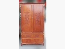 [9成新] RW122903 * 梨花木二衣櫃/衣櫥無破損有使用痕跡