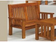 [全新] 高上{全新}柚木2人座木椅(50木製沙發全新