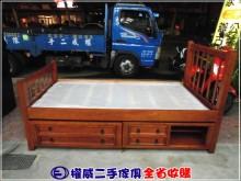 權威二手傢俱/3尺實木二抽子母床單人床架無破損有使用痕跡