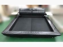 [8成新] B122907黑色雙人加6尺床架雙人床架有輕微破損