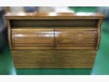 [8成新] B10616*樟木色床頭櫃*床頭櫃有輕微破損