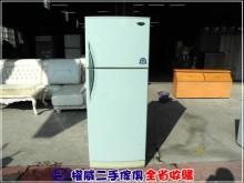 權威二手傢俱/二門冰箱380L冰箱無破損有使用痕跡
