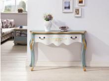 [全新] 歐式烤綠白色玄關桌$10900其它桌椅全新