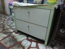 [8成新] 連欣二手傢俱-二抽床頭櫃白橡色床頭櫃有輕微破損