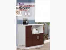 [全新] 高上{全新}3尺鐵刀木喜而好餐櫃碗盤櫥櫃全新