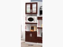 [全新] 高上{全新}2尺鐵刀木喜而好餐櫃碗盤櫥櫃全新