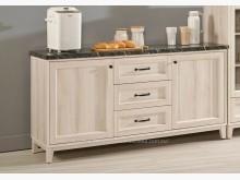 [全新] 2004415-1雪莉5尺石餐櫃收納櫃全新