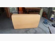 快樂福二手倉庫皮製5尺厚板床頭片床頭櫃無破損有使用痕跡
