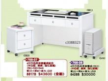 [全新] 高上{全新}4尺白色貝多美書桌(書桌/椅全新