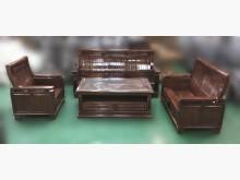 [8成新] ZH*13002樟木沙發茶几組*木製沙發有輕微破損