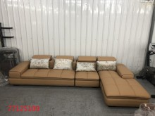 [全新] 庫存/零碼  淺咖啡色L型沙發多件沙發組全新