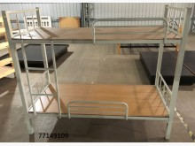 [全新] 77149109 鐵製雙層床單人床架全新