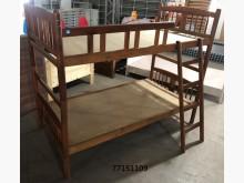 [全新] 77151109 胡桃雙層床單人床架全新