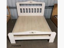 [全新] 77154109 淺色床架雙人床架全新