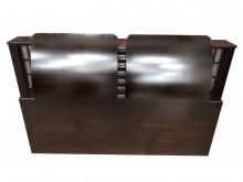 [9成新] 胡桃色五尺床頭櫃*二手中古床頭櫃無破損有使用痕跡